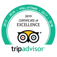 2016 - Certificate of Excellence - Tripadvisor