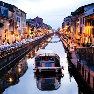Milan Canal Boat