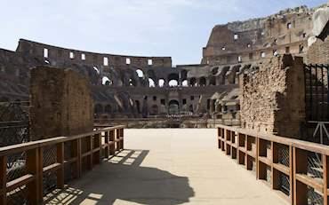 Arena floor Colosseum