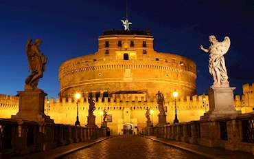 Castle San Angelo by Night