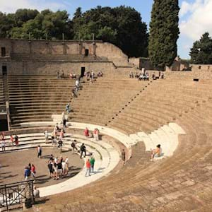 Pompeii Amphitheater by Day
