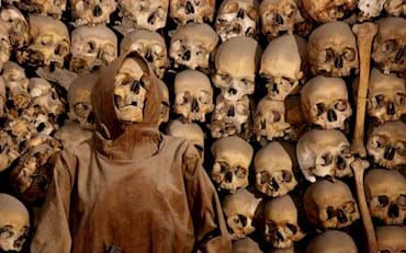 Capuchin Crypt with Skulls