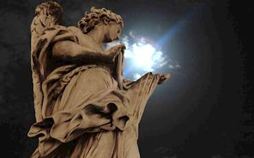 Angel Castel Sant'Angelo Night