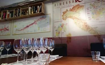 Gourmet Wine Tasting with sommelier