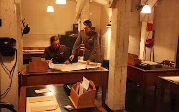 Churchill war room soldiers