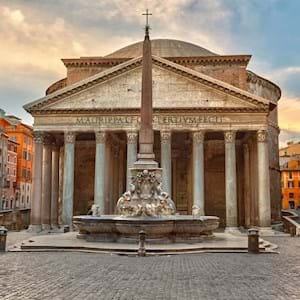 Pantheon Front View