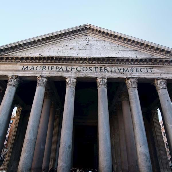 Pantheon close up