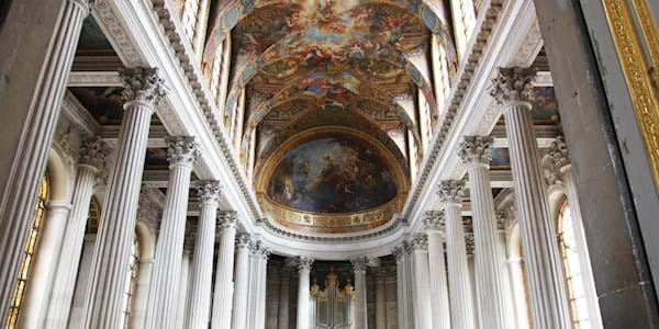 Interior of versailles palace