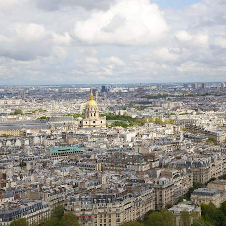 Panoramic View from the Eiffel Tower