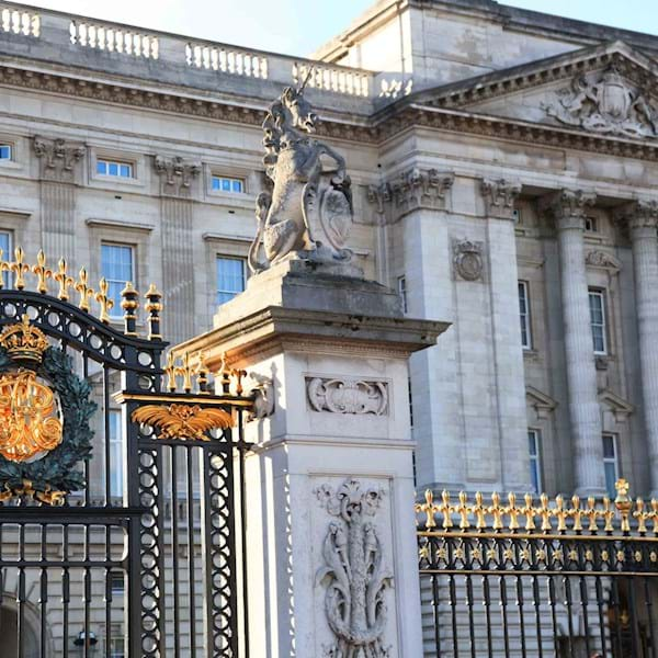 Buckingham Palace Gate Closeup