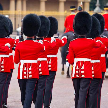 Royal Guards Marching
