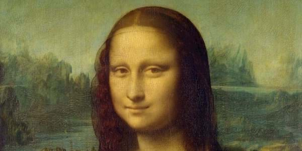 Mona Lisa Portrait Closeup
