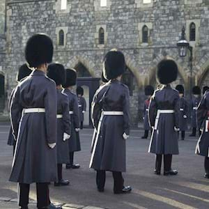 Royal Guards at Windsor Castle