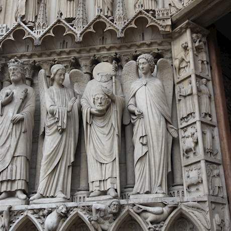 Saints Sculptures of Notre Dame