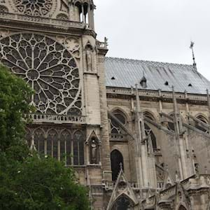 Notre Dame Facade close up
