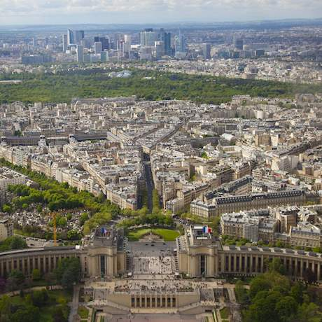 General View of Paris from the Eiffel Tower