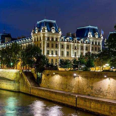 Conciergerie Exterior by Night