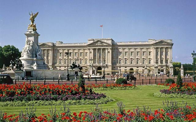 Buckingham Palace flower view. Buckingham Palace Tour with Afternoon Tea   City Wonders