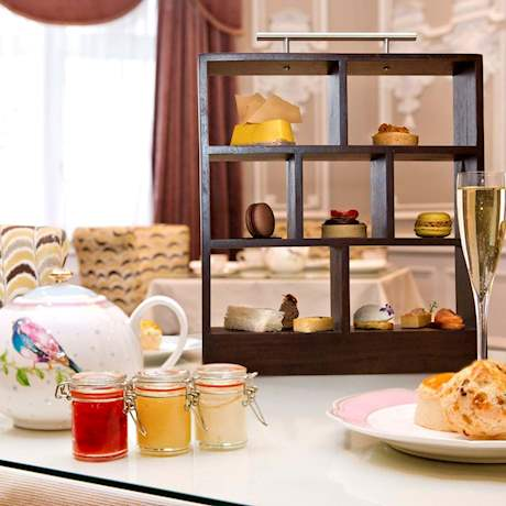 Tea with Pastries and Sweets