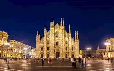 Duomo Milan By Night