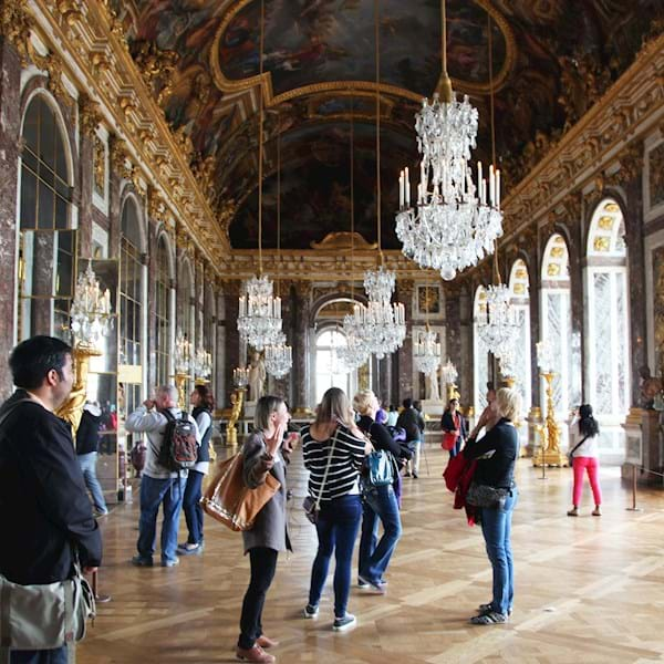 Hall of Mirrors Group Versailles Palace