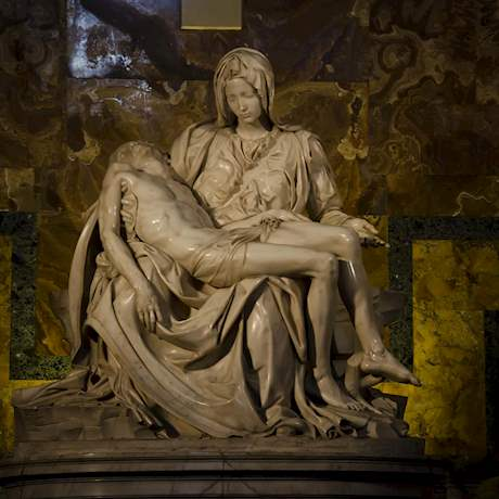 Pieta Statue of Michelangelo