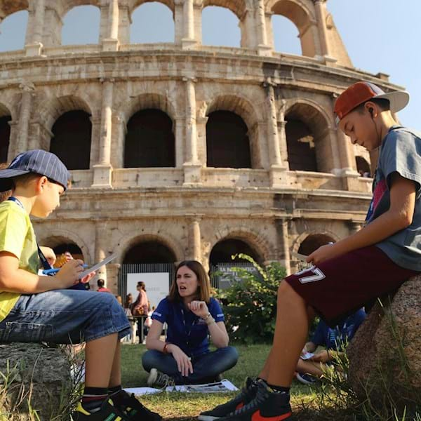 Colosseum and Kids Involved