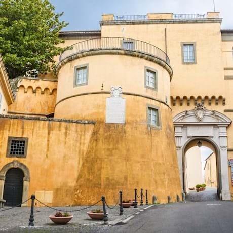 Apostolic Palace Courtyard