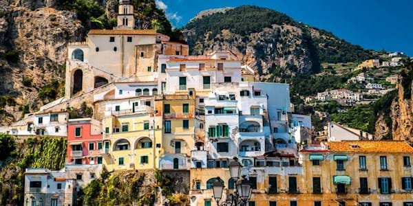 Amalfi Houses colourful