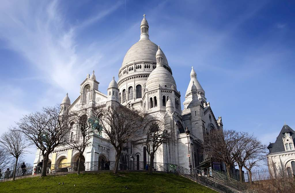 Side View Sacre Coeur