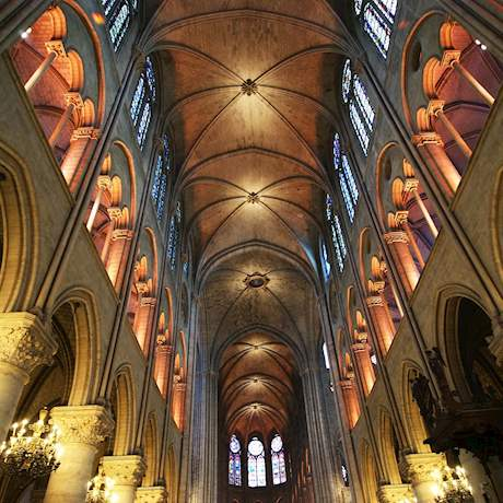Notre Dame Interior View