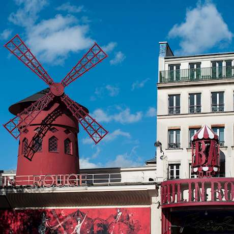Moulin Rouge by Day