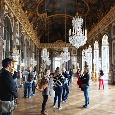 Hall of Mirrors of Versailles Palace