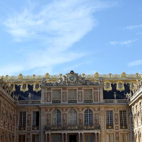 Versailles Palace Front View