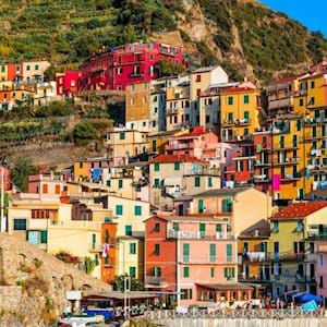 Manarola Zoom Houses
