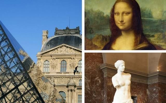 Louvre Museum and Mona Lisa