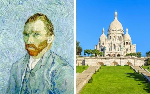Van Gogh Self Portrait and Musee d'Orsay