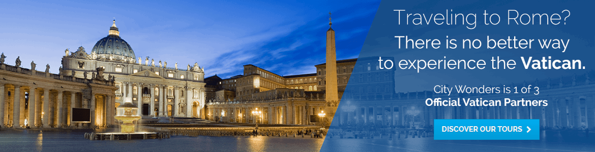 The vatican, there is no better way to visit the Vatican than with City Wonders