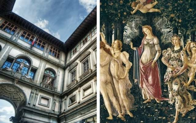 Uffizi Gallery and The Spring