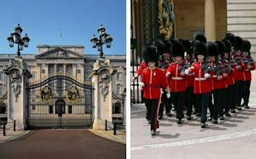 Buckingham Palace and Changing of the Guard