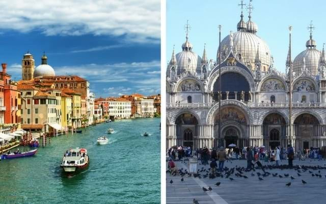 Grand Canal and St. Mark's Basilica