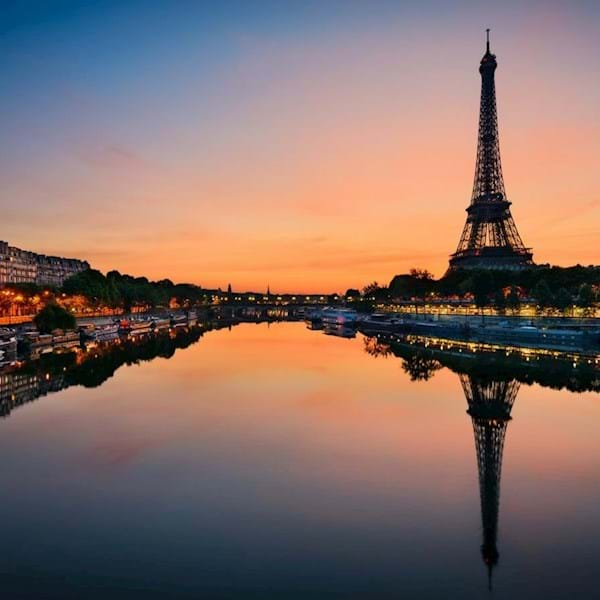 Seine River Sunset