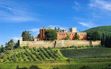 Tuscany Castle Wine
