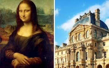 Mona Lisa and Louvre