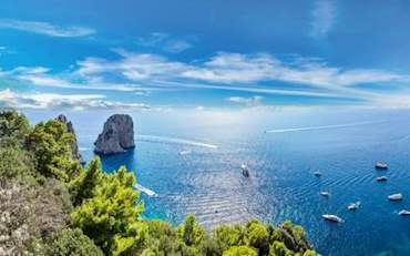 Capri Coast Day Tour