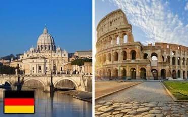 Kombi Vatikan und Kolosseum