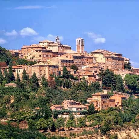 montepulciano hill town