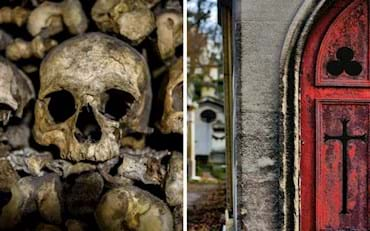 paris catacombs and pere lachaise