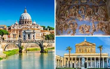 Vatican Sistine St. Paul's