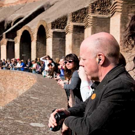 Colosseum Visit Inside